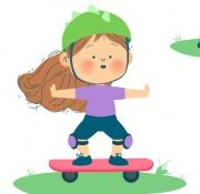 Unit 6: I like skateboarding.