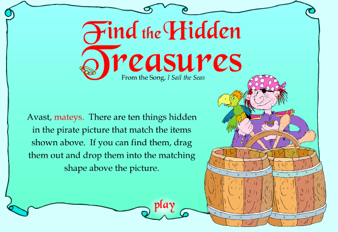 Find the hidden treasures