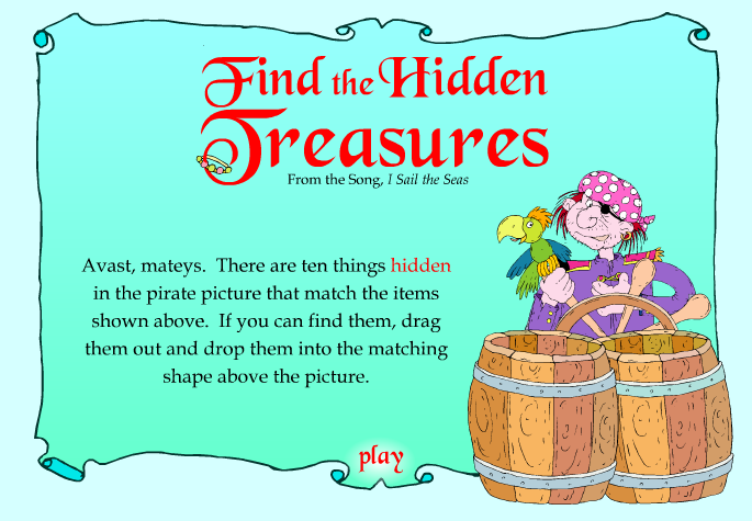 Find The Hidden Treasure