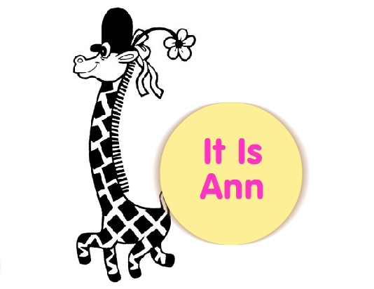 It is Ann