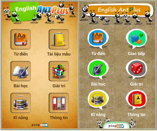 Phần mềm English Ant plus Office edition for iOS cho trẻ em