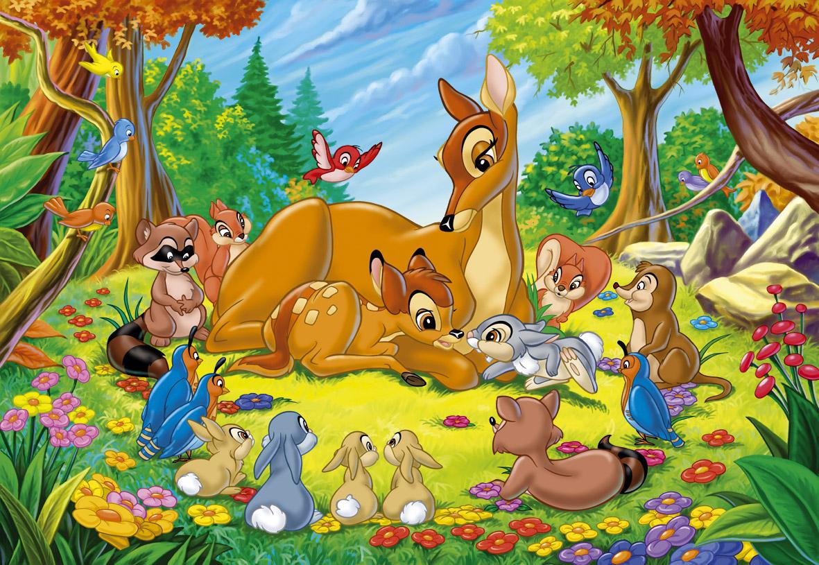 Review nội dung phim hoạt hình tiếng Anh Bambi